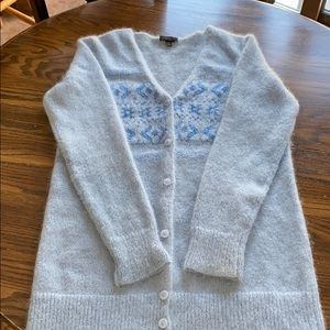 Baby Blue Coach Cardigan